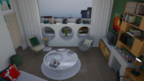 Modern retro  - Retro - Living room - by augustmoon