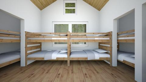 Camp Bunk Room - Bedroom - by SammyJPili