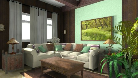 in need  - Living room - by Wilson Jessica