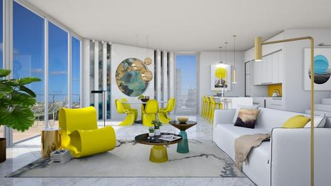 Yellow chairs - Modern - Living room - by Valkhan