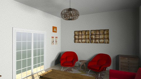 first living room - Living room - by mydecomonica