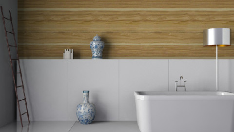 Wood Lines - Minimal - Bathroom - by 3rdfloor