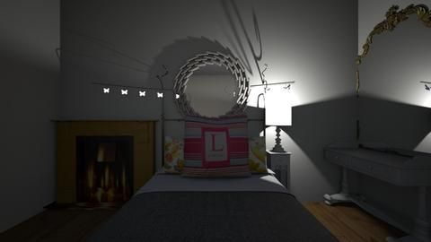 My Dream Bedroom - Glamour - Bedroom - by Mulli Tanzerian