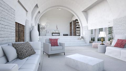Mediterranean living - Living room - by EllaWinberg