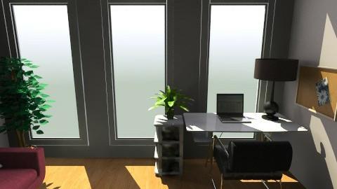 San Jose Utopica desk - Office - by Arianis Gutirrez Vannucci