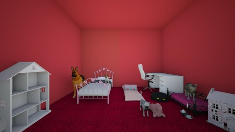 my room - Kids room - by CassyYT