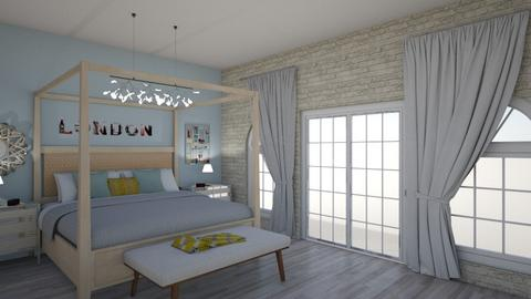 Pastel bedroom - Feminine - Bedroom - by Lyshjelm