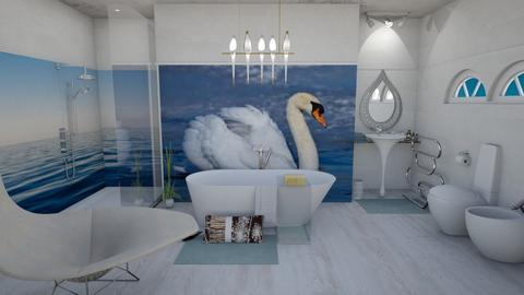 Tranquility  - Bathroom - by The quiet designer