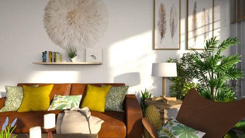 Boho Living - Living room - by Sarah Anjuli