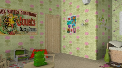 Terra's room - Eclectic - Kids room - by sid45ultra
