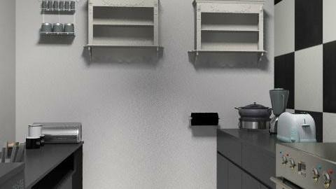 my dream kitchen - Retro - Kitchen - by siobhana1991