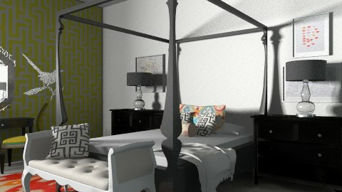 Bed II - Eclectic - Bedroom - by hunny