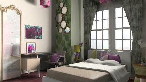 my style - Eclectic - Bedroom - by divachiquita714