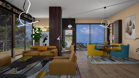 M_ L w C - Living room - by milyca8