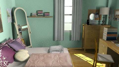 Twilight Bella Swan Bedroom - Country - Bedroom - by Lenii