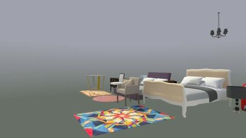 stylish - Modern - Bedroom - by nishita