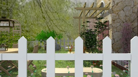 Orchard Road garden  - Country - Garden - by madisonstreet
