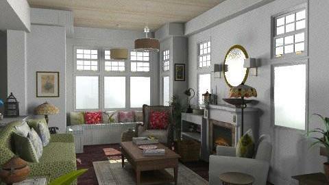 Newport Beach Living Room3 - Vintage - Living room - by LizyD