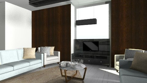 Neutrals - Living room - by SaraxDGoesRoarr