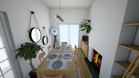 100 Bush Road - Dining room - by rachelbbridge