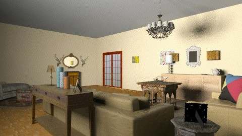 living - Retro - Living room - by mgado
