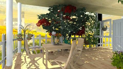 Wine - Country - Garden - by hetregent