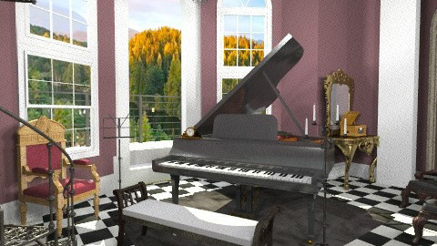 For the Love of a Prince - Classic - Living room - by annagunbina