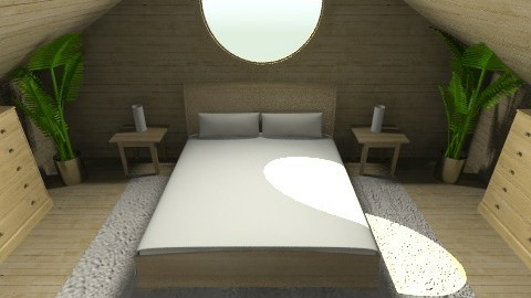cabin_bed - Country - Bedroom - by moonkai