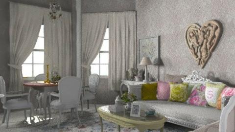 shabby - Vintage - Living room - by mywishlr
