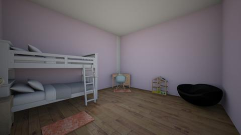 first design - Kids room - by Naomi1020