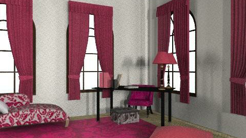 room2 - Vintage - Bedroom - by camila_lhuillier