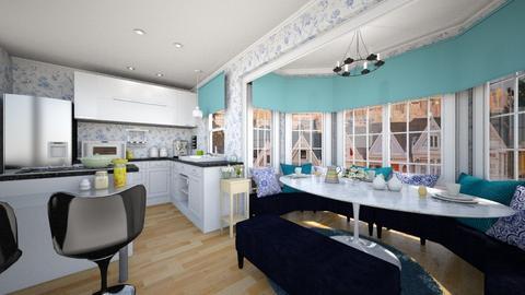 Breakfast Nook SF - Modern - Dining room - by SammyJPili
