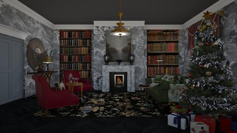 cozy christmas eve - Classic - Living room - by kitty