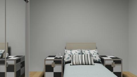 oriental - Bedroom - by adelaidemourao