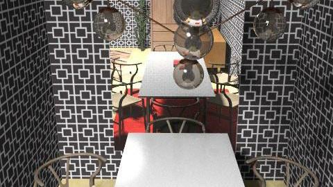 Hello Modo - Retro - Dining room - by Brentalicious