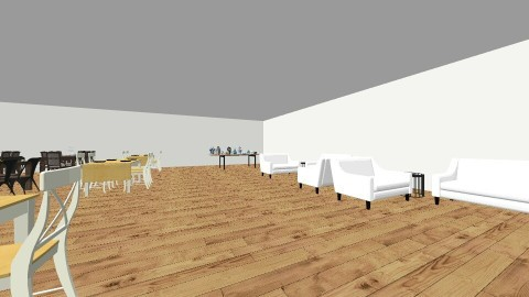 restraunt - Dining room - by Lillie Gardner