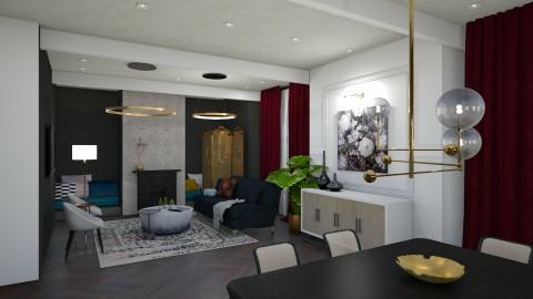 living room - by flokopuffs