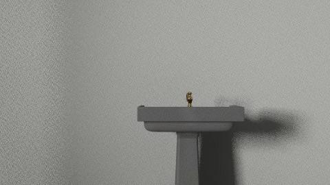 NEW BATHROOM 2ND FLOOR - Retro - Bathroom - by whodafnos