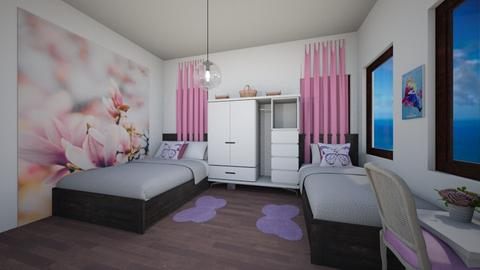 Grace Room - Feminine - Bedroom - by chime
