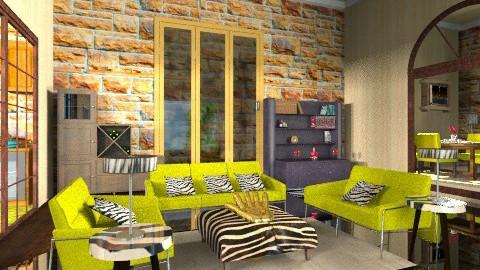 Green room - Eclectic - Living room - by wiljun
