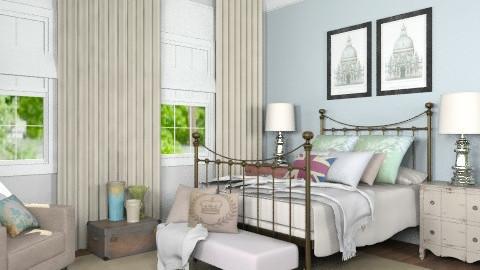 Bedroom for Katherine - Vintage - Bedroom - by Carliam