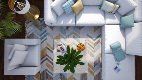 Overhead - Living room - by GraceKathryn