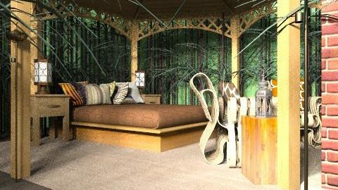 forrest bedroom - Eclectic - Bedroom - by Rechoppy92