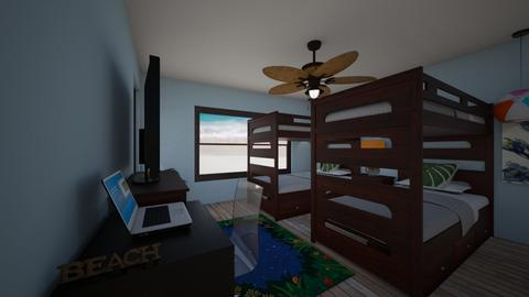beach bedroom 1 - by eallmon