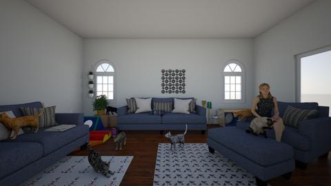 Road Island - Classic - Living room - by michiah