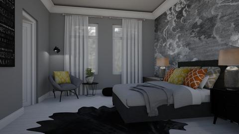 Splash of color - Bedroom - by Tutsi