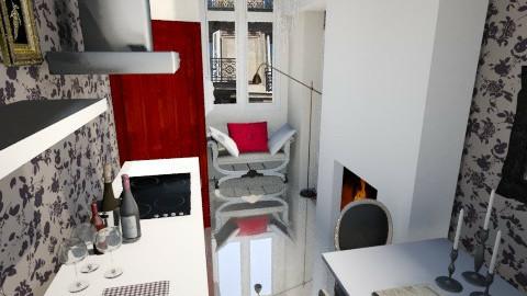 Paris tiny room - Glamour - Kitchen - by KataaRinaa8