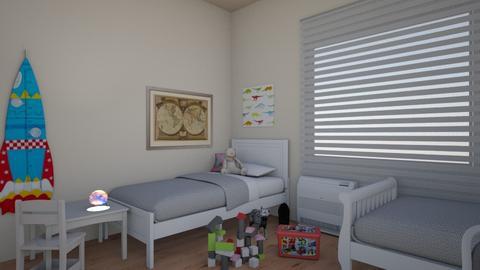 detska7 - Vintage - Kids room - by vinjarova