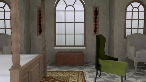 Gothic - Rustic - Bedroom - by ellis1711