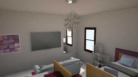 dorm - Bedroom - by sberry